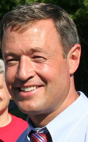Martin O'Malley, Governor of Maryland.
