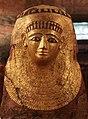 Maschera funebre - Medio regno - periodo greco-romano - 1850 a.C. - 300 d.C. - Neues Museum, Berlino.jpg