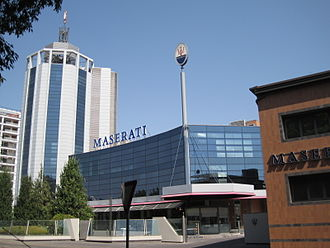 Maserati - Maserati headquarters in Modena, Italy