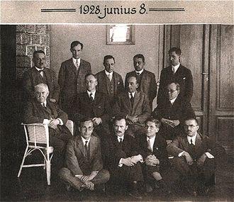 Lipót Fejér - Image: Matematikai konferencia Szegeden, 1928