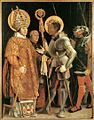 Matthias Grünewald - Meeting of St Erasm and St Maurice - WGA10783.jpg