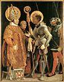 Matthias Grünewald - Meeting of St Erasm and St Maurice - WGA10783.jpg