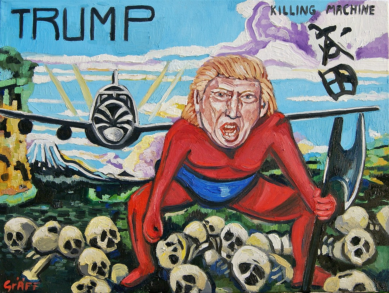 "Matthias Laurenz Gräff - ""Trump. The Killing Machine"".jpg"