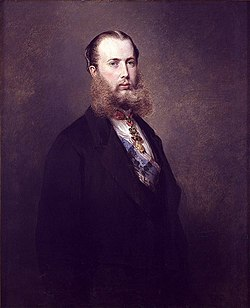 Maximilian of Mexico by Franz Xaver Winterhalter (Hearst Castle).jpg