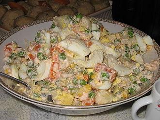 Kosher foods - Kosher Olivier salad