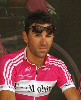 Eddy Mazzoleni Italian racing cyclist