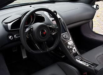 McLaren 12C - Interior