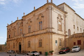 Andrea Belli - The Mdina Seminary (now the Cathedral Museum), which is attributed to Belli