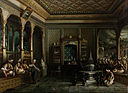 Megerdich Jivanian (from Thomas Allom) - A Coffee House in Tophane - Google Art Project.jpg