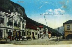 Mehadia - Postcard of Mehadia in 1918