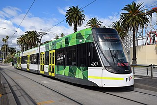 Yarra Trams public transport provider