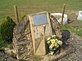 Memorial at entrance to Lyveden Airfield - geograph.org.uk - 378090.jpg
