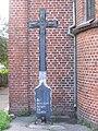 Memorial cross to the former German residents of Rossitten (Rybachy, Kaliningrad - 24 08 2006).jpg