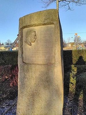 Mick McGahey - Memorial to Mick McGahey, King George V Park, Bonnyrigg, Midlothian