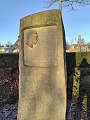 Memorial to Mick McGahey, King George V Park, Bonnyrigg.jpg