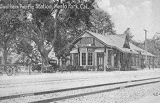 Menlo Park, California - Menlo Park Station, ca. 1918
