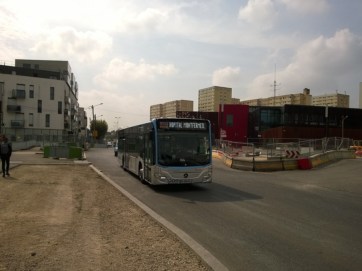 Autobus d 39 le de france wikip dia - Garage mercedes ile de france ...