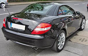 Mercedes SLK 200 Kompressor rear.jpg