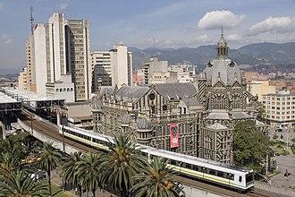 Medellín - Image: Metro de Medellín, Colombia