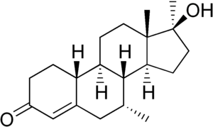 Mibolerone - Image: Mibolerone structure