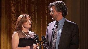 Ayelet Waldman - Waldman and her husband Michael Chabon in 2009