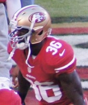 Michael Thomas (defensive back) - Thomas with the San Francisco 49ers in 2012