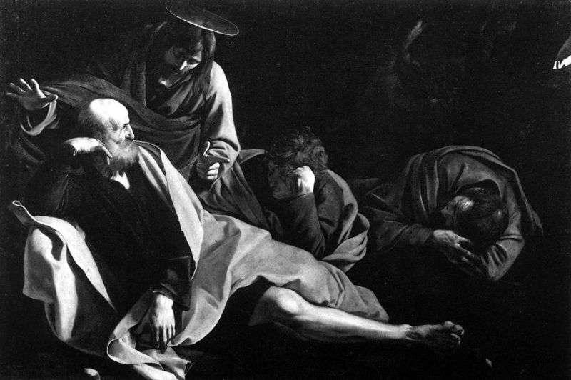 File:Michelangelo Merisi da Caravaggio - Christ in the Garden - WGA04153.jpg