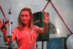 Earthcore - Michele Adamson at Earthcore 2006