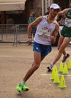 Michele Antonelli Italian racewalker