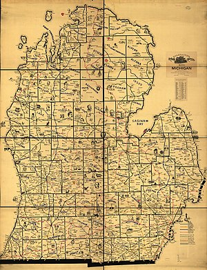 History of railroads in Michigan - By the beginning of the 20th century Michigan's railroad network covered much of the central and southern Lower Peninsula.