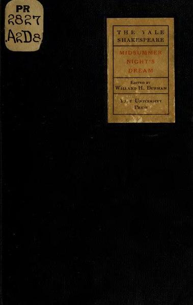 File:Midsummer Night's Dream (1918) Yale.djvu