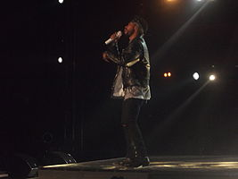 Miguel Performing at MTV Africa Music Awards 2014.JPG