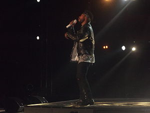 Miguel (singer) - Miguel performing at the 2014 MTV Africa Music Awards.