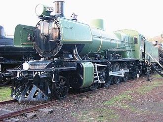Australian Railway Historical Society Museum - Image: Mikado N432