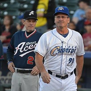 Mike Jirschele American baseball player & coach