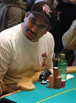 Mike Matusow op de 2006 WPT 5 Diamonds Bellagio Tournament