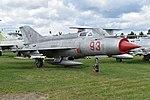 Mikoyan-Gurevich MiG-21S '93 red' (25545861238).jpg