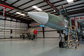 Mikoyan-Gurevich MiG-23UB Flogger-C LFront and MiG-21UM Mongol-B CWAM 8Oct2011 (14444312999).jpg