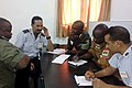 Military students from Mauritania, Burkina Faso, Mali and Senegal conduct a training scenario and meet safety and security objectives during an air operations center class Sept 140902-F-FV908-014.jpg
