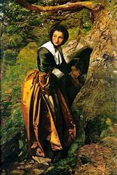 John Everett Millais: The Proscribed Royalist, 1651