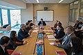 Ministru prezidents Valdis Dombrovskis piedalās apaļā galda diskusijā par izglītību (8230048176).jpg