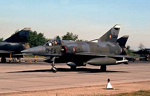 Dassault Mirage 5 - French Air Force Mirage-5F.