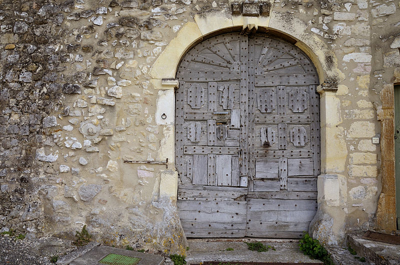 File mirmande vieille porte jpg wikimedia commons for Porte de grange ancienne