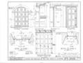 Mission San Francisco de Asis, Mission and Sixteenth Streets, San Francisco, San Francisco County, CA HABS CAL,38-SANFRA,1- (sheet 12 of 39).png