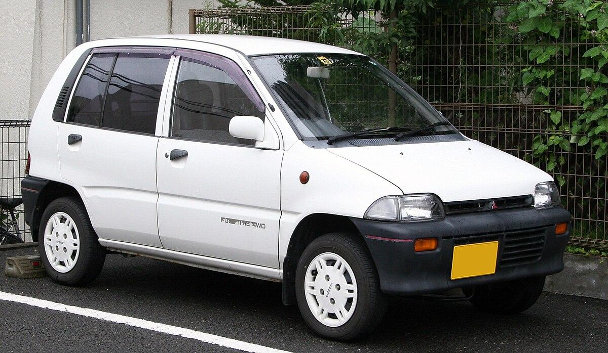 Mitsubishi Minica Wikipedia 1996 Suzuki Carry Fuse Box