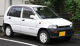 Mitsubishi Minica XF-4 5-door (H27A), front right.jpg