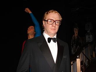Harry Palmer - A wax sculpture of Caine as Palmer in The Ipcress File, at Madame Tussauds, London