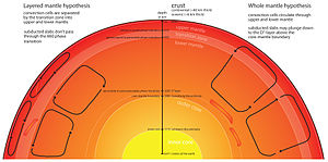 Crustal recycling - Understanding predictions of mantle dynamics helps geoscientists predict where subducted crust will end up.