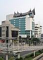 Modern Minangkabau Indonesian Architecture, Matraman, Jakarta cropped.jpg