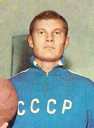 Modestas Paulauskas - Paulauskas in 1970, as a member of the USSR national team